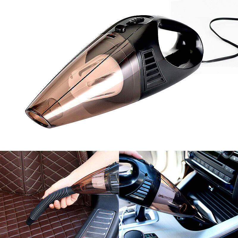 Car Vacuum Cleaner Handheld Wet Dry 120W Mini Hand Held For Auto Dust Duster 12V Home & Garden