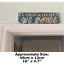 thumbnail 3 - IN THIS KITCHEN WE DANCE Signs Wood Block Plaque Kitchen Shabby Chic Rustic Sign