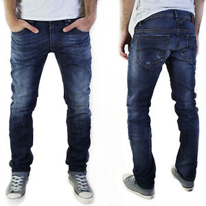 neu diesel herren slim skinny fit r hren jeans hose thavar 0831q used. Black Bedroom Furniture Sets. Home Design Ideas