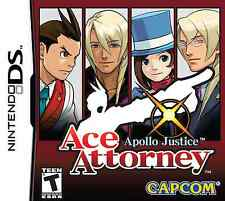 APOLLO JUSTICE ACE ATTORNEY  NINTENDO DS
