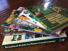 lot of 8 gardening books and booklets,anuals,perennials,backyard bird feeding