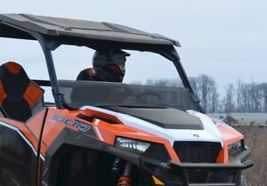Super Atv Polaris General 1000 Tinted Half Windshield Ebay