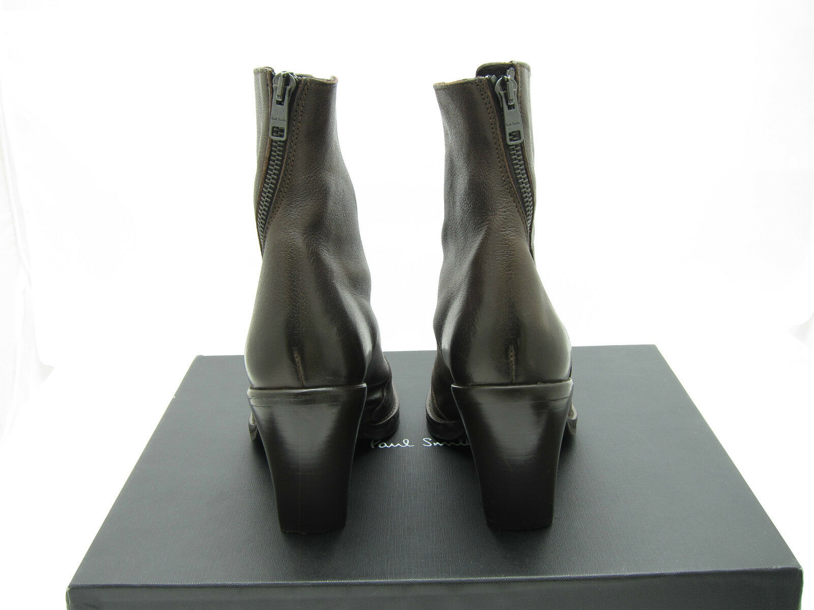 PAUL SMITH schuhe Glinn Stiefel Stiefel Stiefel Chocolate braun Größe 37.5 BNIB with dustbag c32be0