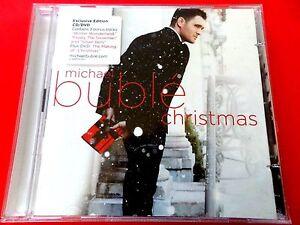 MICHAEL BUBLE - THE CHRISTMAS ALBUM CD + DVD *EX / N.MINT* 18 TRACK | eBay