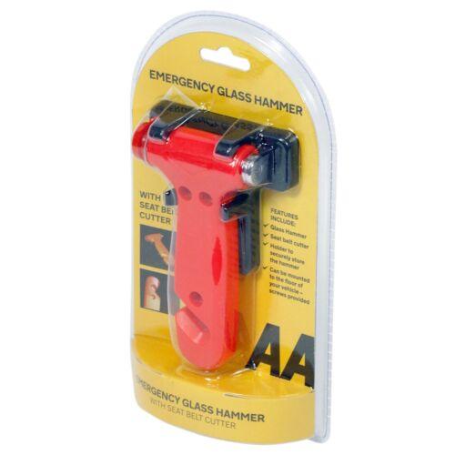 AA Emergency Car Window Glass Hammer