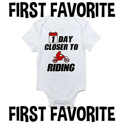 MOTO-X BABY SHIRT INFANT MX BIKE MOTOCROSS YZF KTM CRF KXF RMZ DIRT BIKE