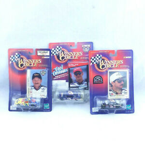 3-Dale-Earnhardt-Winners-Circle-1-64-Scale-Cars-Nascar-Auto-Racing