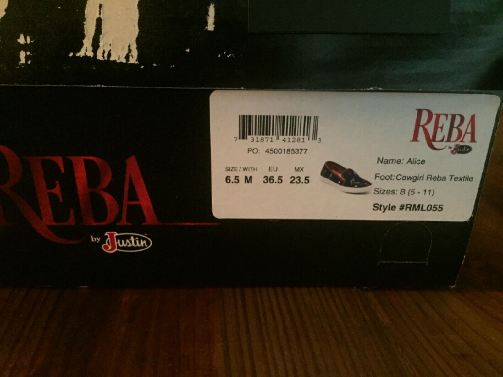 """Fashion womens casual  sport  shoes. Reba by Justin """"Alice"""" style shoes in a 6.5"""
