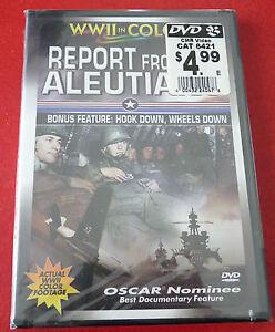 New-DVD-Movie-World-War-II-Classic-Report-From-Aleutians-1951-Original-Version