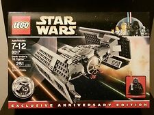 LEGO Star Wars DARTH VADER'S TIE FIGHTER 8017 Very Rare Sealed Retired Set Vader