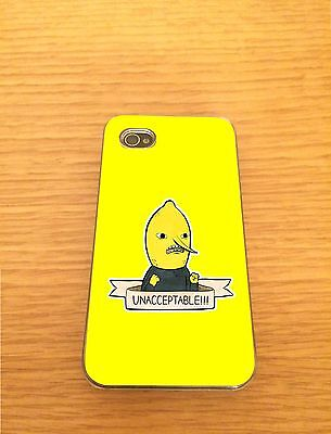 Uncontrollable Lemongrab Iphone Hard Case Cover - Fits 4,5,5c  Adventure Time