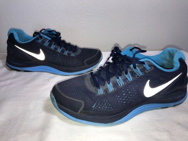 promo code e650e 3dd24 Nike LunarGlide 4 524977-404 Size 10 M Midnight Navy Blue Sneakers Mens  Shoes