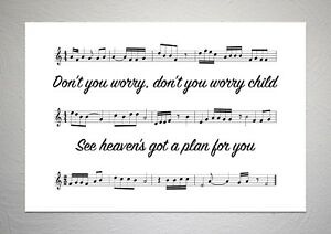 Swedish-House-Mafia-Don-t-You-Worry-Child-Song-Sheet-Print-Poster-Art
