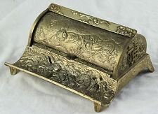 Antike japanische Schreibtischgarnitur versilbert Jugendstil Japan Meiji um 1900
