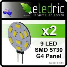 2 G4 LED 9 SMD 5730 LIGHT BULB JAYCO CARAVAN INTERIOR CAMPER RV 4X4 COROMAL BOAT
