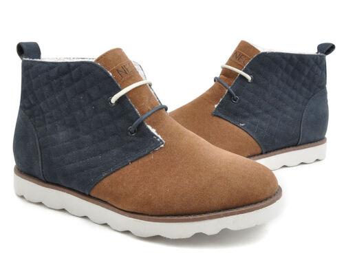 Adidas NEO Herren Wüste Chill Schuhe-navy/braun UK 10-NEU