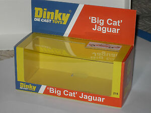 DINKY-JAGUAR-BIG-CAT-219-CODE-3-DISPLAY-BOX-LIMITED-STOCK
