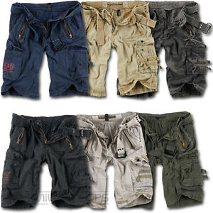 4fe9ff07 Image is loading SURPLUS-ROYAL-SHORTS-MILITARY-ARMY-VINTAGE-CARGO-COMBAT-