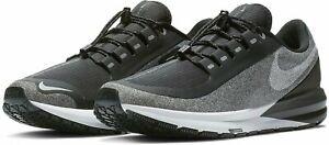 Nike-Da-Donna-Air-Zoom-Structure-22-RN-SCUDO-UK-6-5-US-9-EUR-40-5-Grigio-Nero