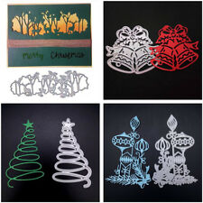 Cutting Dies Metal House Tree Forest Village DIY Scrapbooking Card Craft Stencil
