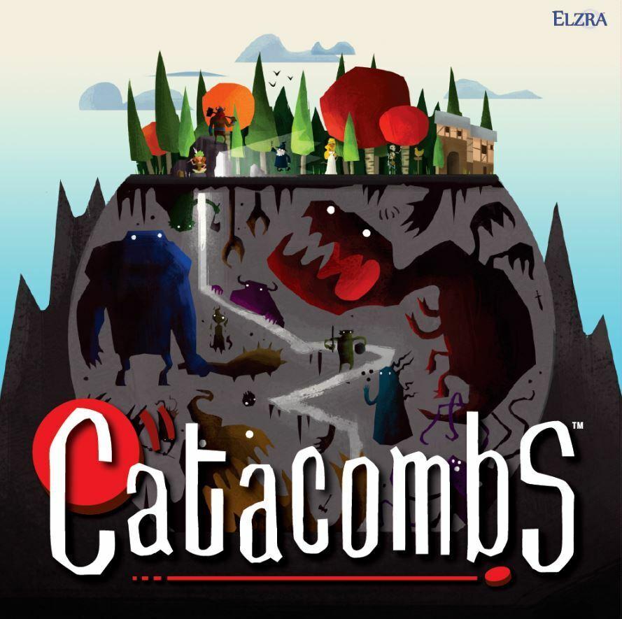 Catacombs 3rd Edición - Destreza Juego de Mesa