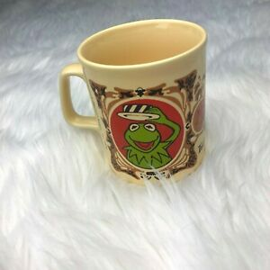 Kiln-Craft-MUPPETS-Coffee-Tea-Mug-Cup-KERMIT-THE-FROG-Vintage-1978-England