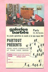 DEPLIANT-PUBLICITAIRE-GALERIES-BARBES-PARIS-CAMION-RENAULT-PANHARD