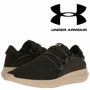 envio-24Hr-Under-Armour-railfit-1-para-hombre-Negro-Jog-Correr-Entrenador-Zapatos