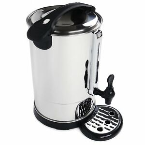 NEW! Electrical 10L Commercial Catering Kitchen Hot Water Boiler Tea Urn Coffee