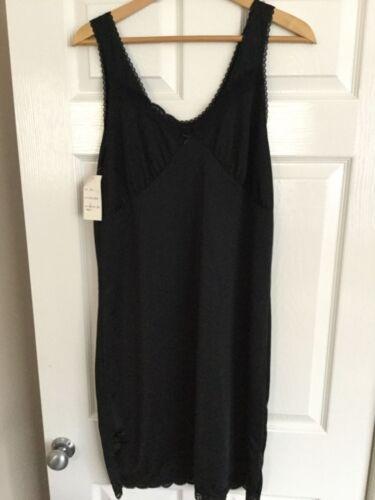 SLENDERELLA Full Length Black Slip Style Number SL194 BNWt