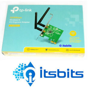 Details about TP-LINK TL-WN881ND WIRELESS N PCI-E 300Mbps NETWORK CARD  ADAPTOR 2 4GHZ 3Y WTY