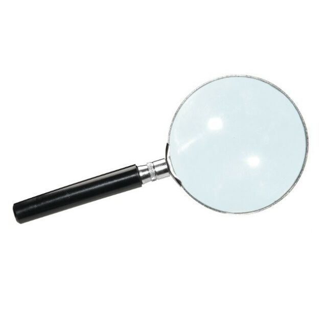 Heebie Jeebies SHERLOCK HOLMES Magnifying Glass 2.5x Magnification 75mm Lens