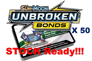 50x Sun and Moon Unbroken Bonds Pokemon PTCGO Online Codes Sent In Game Fast!