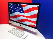 ULTIMATE 27 inch iMac Desktop / Core i5 2.7Ghz / OSX-2015 / 1 Year Warranty! SSD