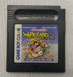 Wario Land 2 - Japan (Nintendo Game Boy Color, 1998) - New Save Battery