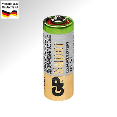 4 VARTA Batterien 12V für Funk Steckdosen Ø 10x28mm Handsender Fernbedienung