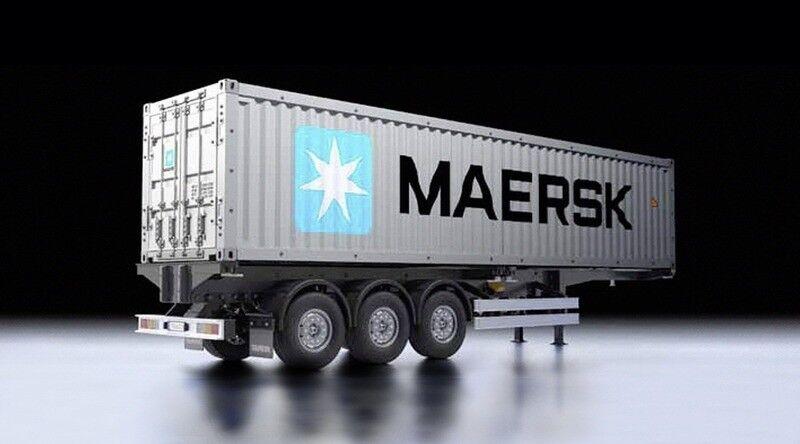Joyeux Joyeux Joyeux noel Tamiya 40-fu  Container-semi Maersk - 56326 525856