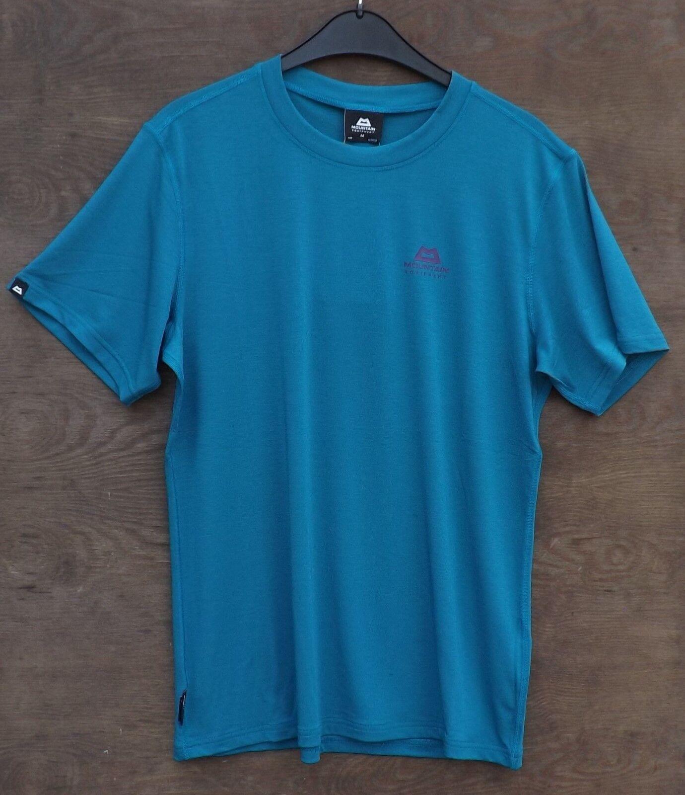 Mountain Groundup Equipment Groundup Mountain Tee Men, Herrenshirt, Funktionsshirt, tasman Blau c725bb