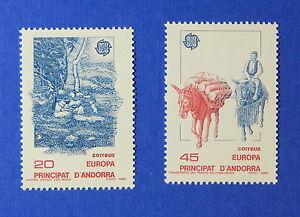 Andorra Cooperative 1988 Andorra Spanish Scott# 184-185 Michel # 200-201 Unused Nh Cs25411 Reliable Performance Stamps