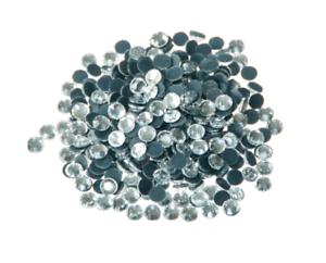 1000 Clear Hotfix Rhinestones Crystal Glass Diamond Iron On Beads Gem 2,3,4,&5mm