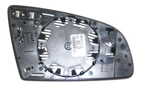 a4 8e Glace polie côté conducteur Original AUDI a3 8p a6 4f verre convexe gauche OVP