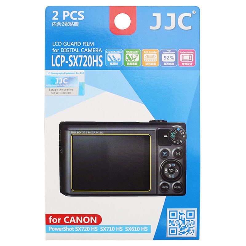 JJC 2PCS Screen Protector Film for CANON PowerShot SX720 SX710 HS SX620 610 HS