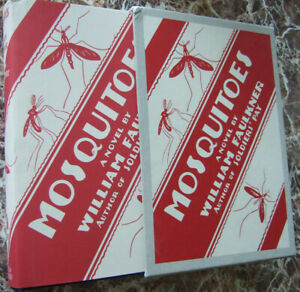 1927-First-Edition-Facsimile-Mosquitoes-by-William-Faulkner-Exc-w-Case