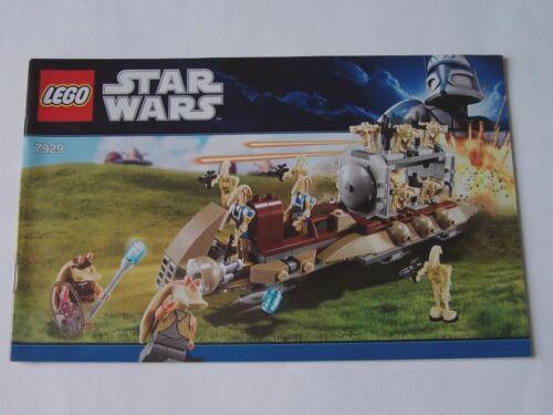7929 Instruction Nr LEGO® Bauanleitung