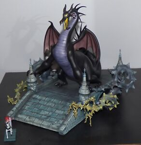 Details About Wdcc Sleeping Beauty Maleficent Dragon Philip Samson Walt Disney Figurine Set