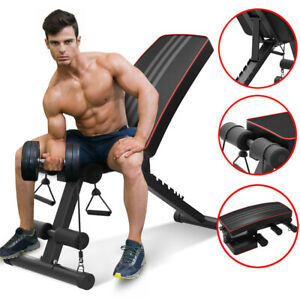 Tremendous Details About Foldable Weight Bench Incline Decline Dumbbell Bench For Full Body Workout Gym Creativecarmelina Interior Chair Design Creativecarmelinacom