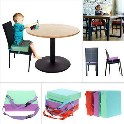 Baby Kids Increased Soft Chair Seat Highchair Mat Dining Booster Cushion Pad New