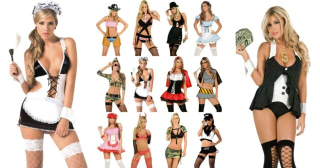 NEW Wholesale Lot Sexy Women Costumes Lingerie Party Halloween Rave S M L XL