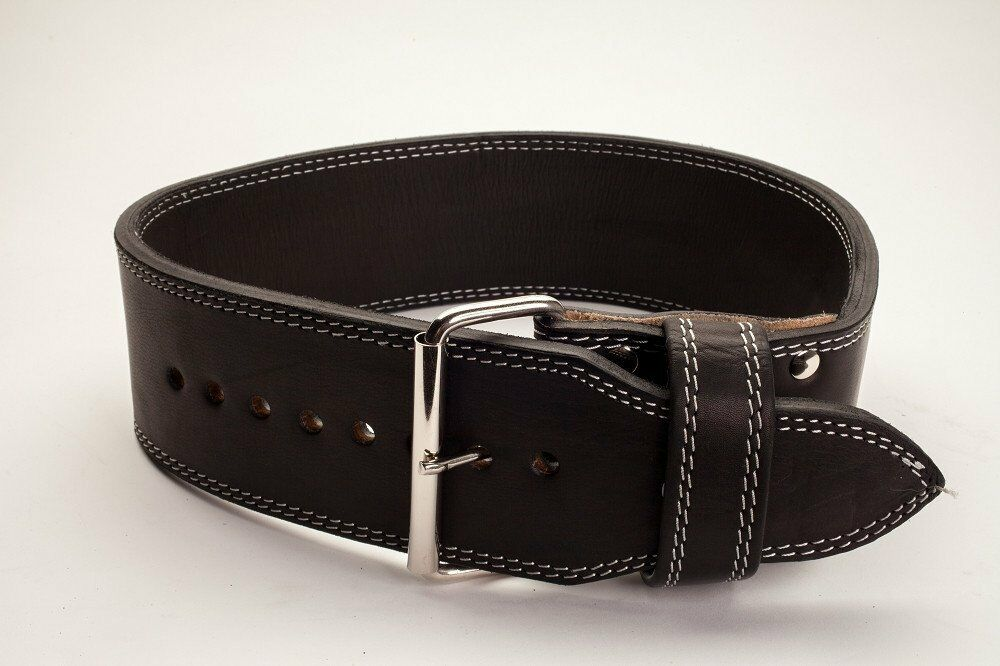Powerlifting Polished Leather 13mm 1 Prong Belt -  IPF Approved  hot
