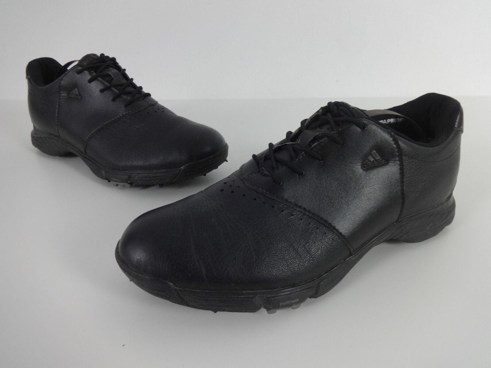 Adidas Golf Spikes 5 UK Μαύρο ΔΡρμάτινο Climaproof Traxion ΔαντέλΡς μέχρι τα γυναικΡία EUR 38